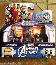 Marvel Minimates HAWKEYE & CROSSBONES Avengers Assemble Animated Walgreens 1.5