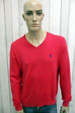 RALPH LAUREN Maglione Uomo Taglia L Cotone Casual Pull Pullover Sweater Man