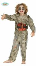 Boys Zombie Undead Exposed Guts Gory Halloween Fancy Dress Costume Outfit