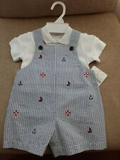 Baby boy outfit set size 12 months NWT.