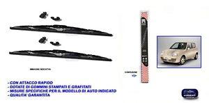 Tergicristalli Fiat 600 Seicento dal 98 al 2010 Coppia spazzole tergicristallo 2