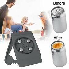 Can Opener Holders Topless Can Top Remover Held-Safety Easy Smooth Manual Can