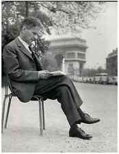 Italia, Carlo Cassola, scrittore e saggista italiano Vintage print. Carlo Cassol