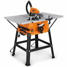 Electric Table Saw DIY Power Tool Work Bench Stand Circular Mitre Bevel Edges