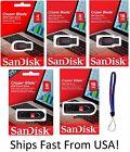 SanDisk Cruzer Glide/Blade 4GB 8GB 16GB USB Flash Drive Memory Stick CZ60 CZ50