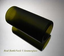 Real BottleNeck Guitar Slide Custom Matte Finish 18mm ID Acoustic Electric Reso