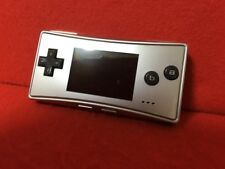 Used Nintendo Game Boy Micro (Silver) only console F/S From Japan