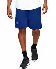 "Under Armour HeatGear RAID 10"" Loose Fit Shorts Men's MD Royal Blue 1253527 400"