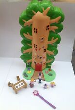 Ben And Holly's Little Kingdom Wise Old Elf Treehouse with Wand & Figures - Rare