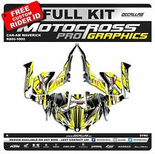 CAN AM MAVERICK R800-1000 SUPER DURABLE Stickers Graphics Decals Decallab