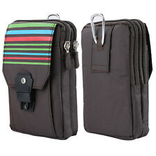 """6"""" Outdoor Hiking Travel Wallet Sport Style Pouch Carrying Case Fanny phone Bag"""