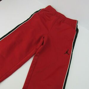 Nike Jumpman Jordan Athletic Pants Youth M 10-12 Youth Medium Red Basketball