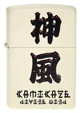 Zippo Briquet kamikaze divine vent crème tapis Chin. caractères neuf emballage d'origine