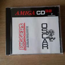 commodore Amiga CD32 amiga oscar&diggers