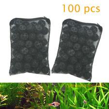 "100 pcs 1"" Bio Balls for Aquarium Fish Pond Filter FREE Media Bag"