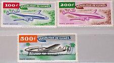Guinea 1959 21-23 c14-16 Lockheed Constellation Airplanes aviones plan mnh