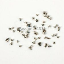 Repair Full Screws Set Replacement Parts with 2 Bottom For iPhone 5S Black