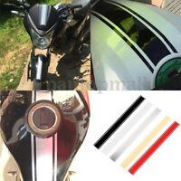 DIY Motorcycle Tank Fairing Cowl Vinyl Stripe Pinstripe Sticker For Cafe Racer #