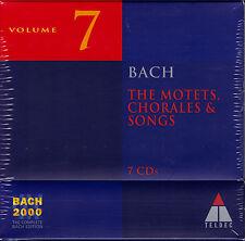 BACH 2000 VOL. 7 MOTETS, CHORALES, SONGS Motetten, Choräle, Lieder 7 CDs NEU OVP