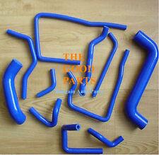 SILICONE RADIATOR HOSE Kit For Subaru Impreza WRX/STi GDA/GDB EJ207 02 - 06 BLUE