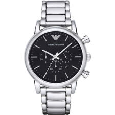 EMPORIO ARMANI Classic Chronograph Black Dial Men's Watch AR1894