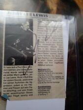 JERRY LEE LEWIS Signed Magazine Article JSA COA
