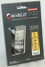 4 pcs Zagg Invisible-Shield for Apple iPHONE 4 & 4S HD Clarity Screen Protector