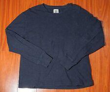 Original Penguin Munsingwear Men's Thermal Sweater Vintage Navy Blue Size Large