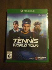 Tennis World Tour (Microsoft Xbox One 2018) 4K Ultra Rated E Roger Federer NIP