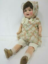 New ListingVintage Large Composite Arms & Legs Doll w/Open Mouth and Closing Eyes