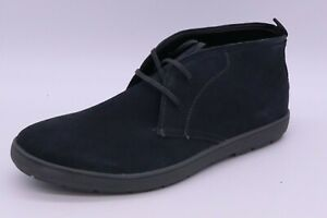 CALVIN KLEIN NOWLES MEN'S SIZE 10.5M DARK GREY SUEDE CHUKKA ANKLE BOOTS LACE UP