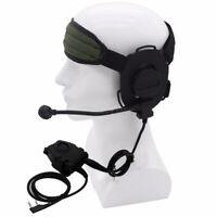 Waterproof HD03 Headset TCI/Peltor PTT Cable Earphone for BaoFeng UV-5R UV-82