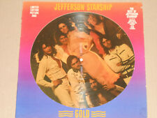 JEFFERSON STARSHIP -Gold- LP Picture Disc, Limited Edition Grunt Records