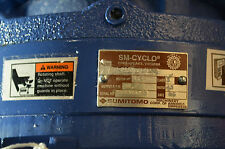 SUMITOMO CYCLO 6000  RATIO 43  1.5 HP  1720 RPM  F-90S  Frame