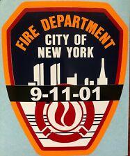 9/11 FDNY Sticker