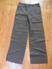 (264JAN) Size 10 *PALERMO BY NOA NOA* Smart green linen trousers ladies