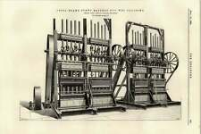 Sello de Marco de Acero 1895 Batería Para Húmedo trituración Robey Lincoln