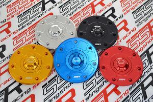 Kawasaki Quick Release Billet Keyless Fuel Gas Tank Cap Lid ZRX1100 ZX-6RF1-3