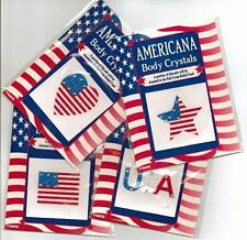 America USA 8 Crystal Body Art, Scrapbooking, Card making, Democrat Republican