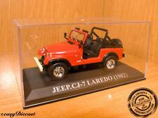 JEEP CJ7 C-J7 CJ-7 LAREDO RED 1982 1:43 MINT!!!