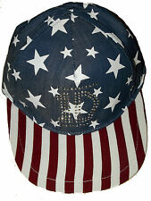 Bnwt 1D one direction stars & stripes snapback casquette de baseball taille 7-13 ans