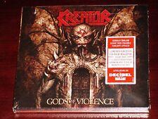 Kreator: Gods Of Violence - Limited Edition CD + DVD Set 2017 NB USA Digipak NEW