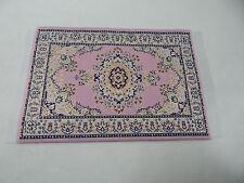 "4""x6"" #12 KK  Dollhouse Miniature 1:12 Scale Floor Carpet  Woven Area Rug"