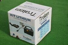 TROLEM KIT Batterie Lithium 20 AH CHARIOT DE GOLF 12V AVEC CHARGEUR