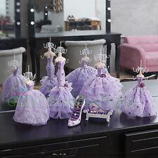 SET PURPLE mannequin shoe sofa Jewelry Display Holder Multi-Purpose Organisers