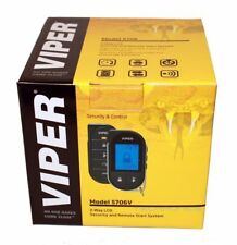Viper 5706V 2 Way Car Vehicle Security Alarm Remote Start Keyless Entry System