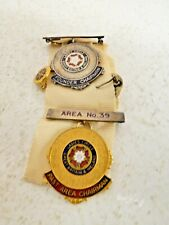 More details for vintage ladies circle gb & ireland area 39 past area founder chairman badges j18