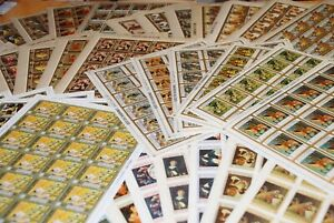 HUGE DEALER-COLLECTOR LOT = FAMOUS ART PAINTING  = FULL SHEETS
