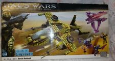 Mega Bloks Halo Wars Authentic Collector's Aerial Ambush 96810 Set 6 Sealed Box