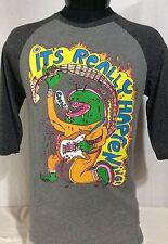 Volcom Yo Gabba Gabbal Wayne Coyne 3/4 length sleeve Shirt Large